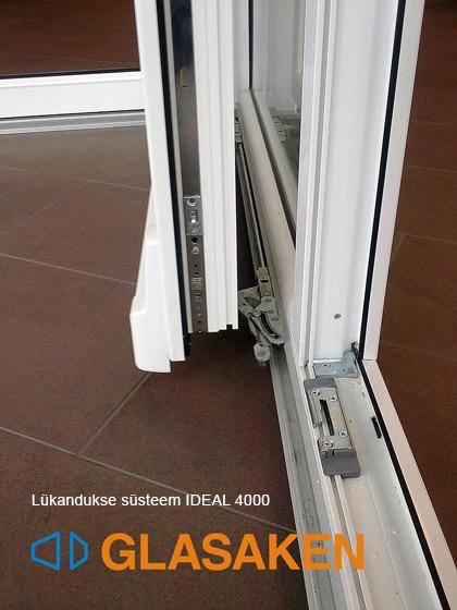 PVC система раздвижных дверей IDEAL 4000