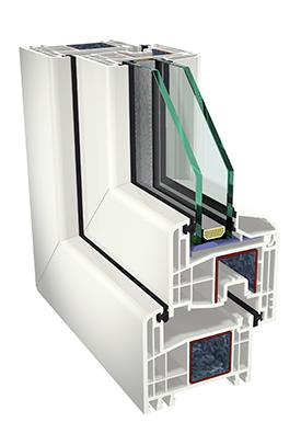 Gealan S-8000 IQ 2kordse paketiga