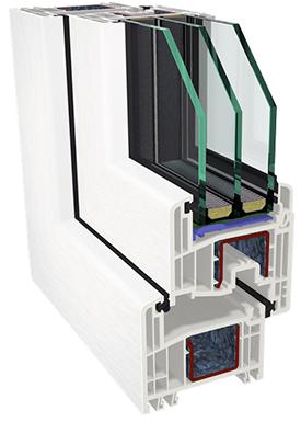 Gealan S-8000 IQ 3kordse paketiga