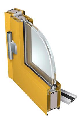 PONZIO NT 78 EI Kolmekambriline süsteem on disainitud sisemiste ja väliste tulemüüride ehitamiseks. NT 78EI võimaldab paigaldada kahepoolseid välja- või sissepoole avanevaid uksi erinevate lävepakulahendustega. Süsteemis on kasutusel 35 mm laiused termoplokid. Lengi ja raami profiilide paksus on 78 mm. NT 78EI süsteemi tarvikute kokkupanek on lihtne, mis oluliselt kiirendab struktuuri loomist. Tänu kolmekambrilisele disainile ja lisatugevduselementidele võimaldab süsteem luua suurte mõõtmetega konstruktsioone.